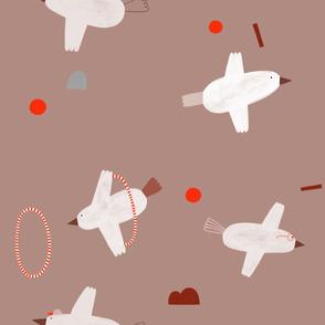 Vögel_taupe