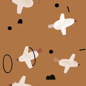 Vögel_hellbraun