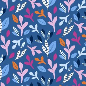 Plant Cutout (Blue)
