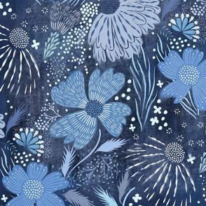 shibori flower abundance