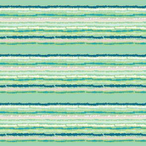 Spring Green Cyan Turquoise Stripes