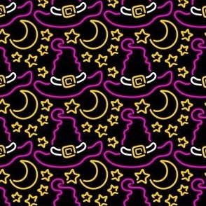 Neon Witch Hat