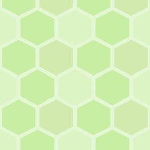 Light Mixed Greens Honeycomb