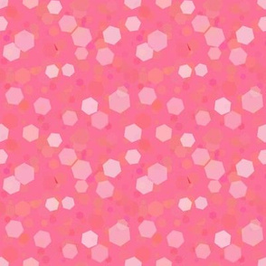 Pinks Honeycomb Bokehs