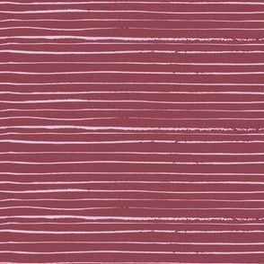 fine pink stripes