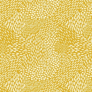 abstract brushstroke texture white on mustard
