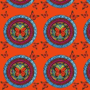 Butterfies Mandala