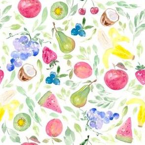 Watercolor Tutti Fruity