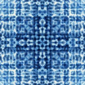 Shibori seamless pattern