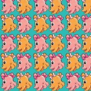 Cute Dumbo Octopuses