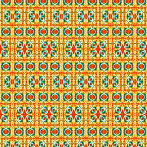 Random & Warm Navajo Stripes