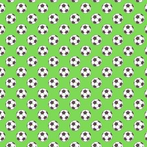 Small Green Soccer Balls