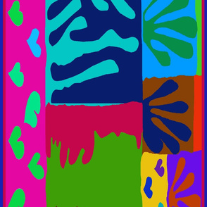 Ode to Matisse Scarf 54x18