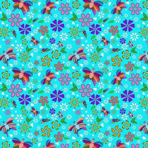 Harmony (turquoise background)