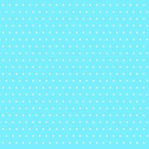 Blue Rockabilly Polka Dot