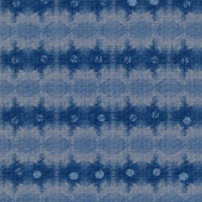Denim and Indigo Shibori