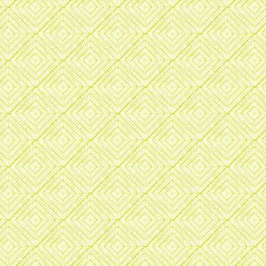 Burst // white on lime