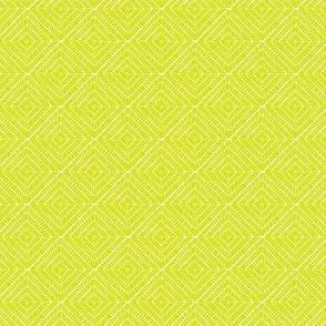Burst // lime on white