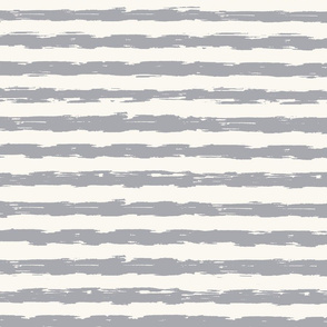 sketchy stripes - grey and white