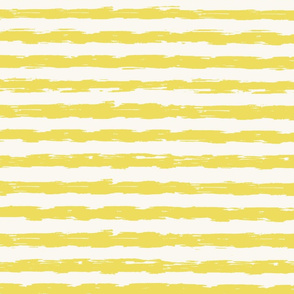 sketchy stripes - citrus yellow and white