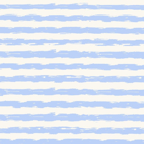 sketchy stripes - light blue and white