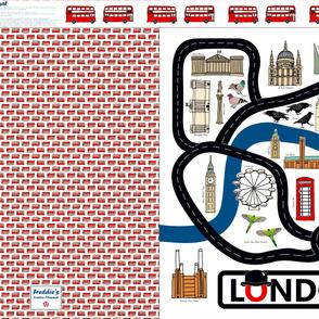Personalised London Playmat