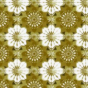 Shibori flower | curry