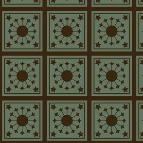 Victorian floor tiles from Barcelona