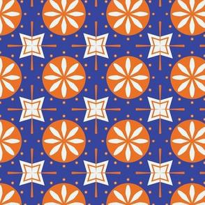 Art nouveau pattern -  Tiles from Barcelona