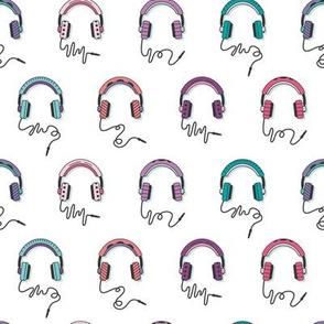 Headphones Cool Tones