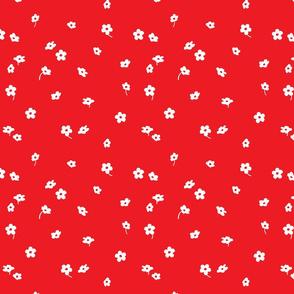 red wild flower