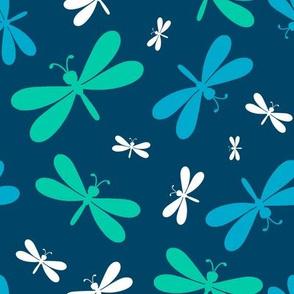 Serene Dragonflies
