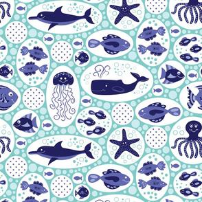 Aquatic Bubbles Blues