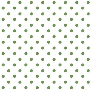 pineapple polka med - tropical green