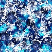 Spider Seashell Shibori