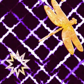 Golden Shibori (Purple)