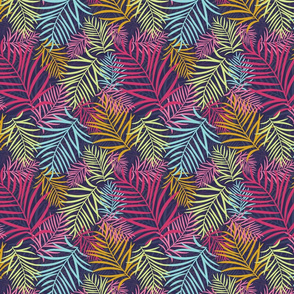 Tropical Palm Tree Leaves