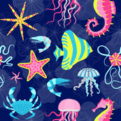 Tropical Sea Animals