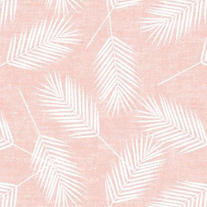 Palm leaves - pink - summer - LAD19