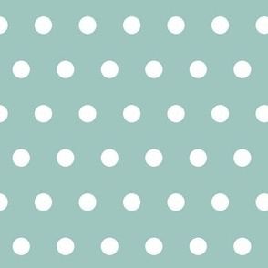 Polka Dots (ice blue)