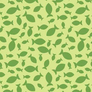 Confetti Fish (Green)