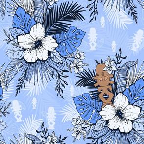 Risa Horga'hn Tropical Floral Blue