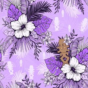 Risa Horga'hn Tropical Floral Purple