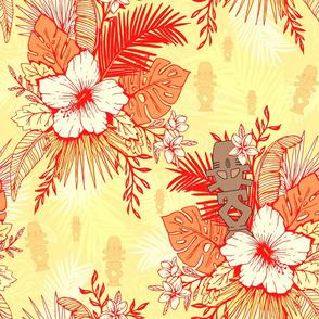 Risa Horga'hn Tropical Floral Vivid Sunny