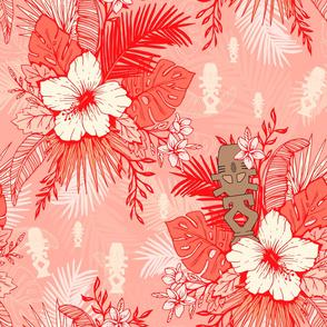 Risa Horga'hn Tropical Floral Red