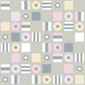 Liquorice Allsorts - pale pastel colors