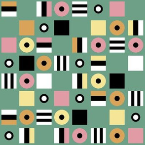 Liquorice Allsorts - spring colors