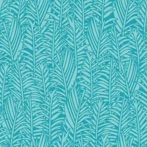 TULUM - Lost palms - blue
