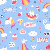 Rainbow Uni-Kitty Sparkles