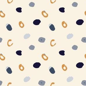 Haru Pebble LG PRINT (Yellow)